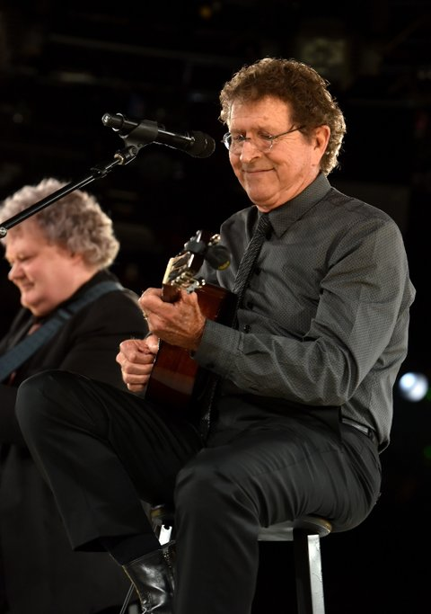 NASHVILLE, TN - NOVEMBER 03:  BMI Icon Award winner Mac Davis performs onstage during the 63rd annual BMI Country awards on November 3, 2015 in Nashville, Tennessee.  (Photo by Erika Goldring/WireImage)