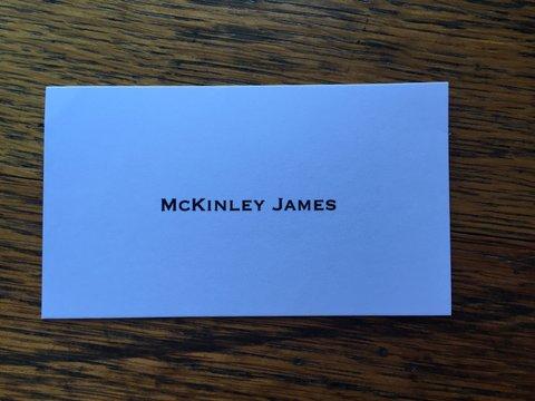 McKinley James