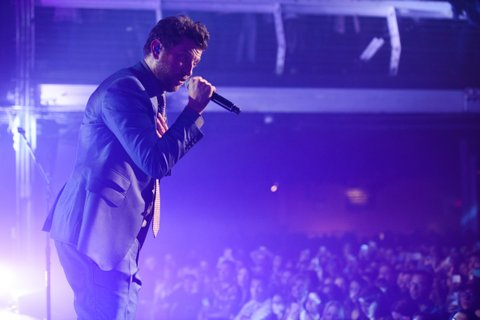 Suits and Boots Tour: Brett Eldredge and Thomas Rhett with special guest Danielle Bradbery perform at Terminal 5 in New York City. 29 October 2015