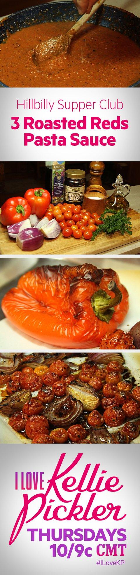 I Love Kellie Pickler - 3 Reds Roasted Pasta Sauce