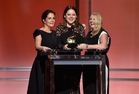 Lori McKenna (left), Hillary Lindsey and Liz Rose