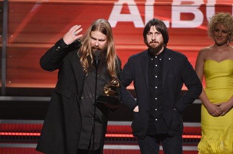 Chris Stapleton (left) and Dave Cobb