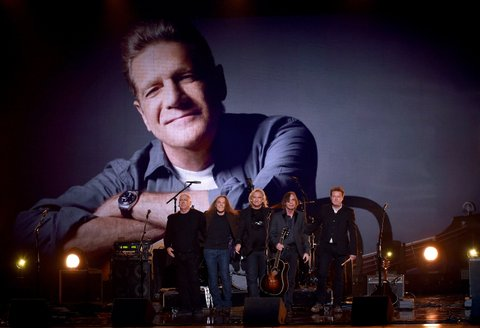 Bernie Leadon, Timothy B. Schmit, Joe Walsh, Jackson Browne, and Don Henley