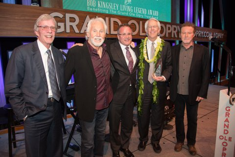 Bob Kingsley, Kenny Rogers, Pete Fisher, Jim Ed Norman, Don Henley