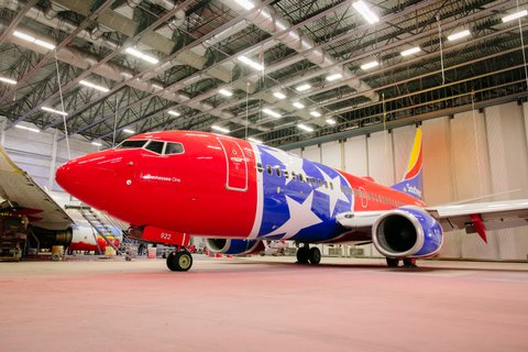Southwest Airlines unveils a high-flying tribute to the state of Tennessee with dedicated aircraft.