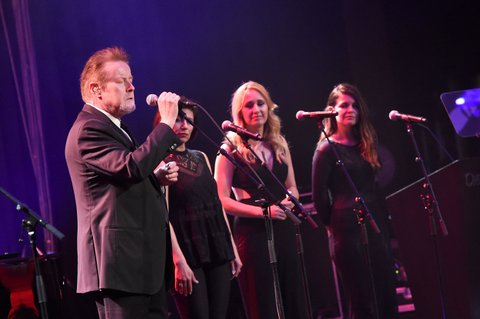 NASHVILLE, TN - FEBRUARY 29:  Don Henley performs at the T.J. Martell Foundation 8th Annual Nashville Honors Gala at the Omni Nashville Hotel on February 29, 2016 in Nashville, Tennessee.  (Photo by Rick Diamond/Getty Images for T.J. Martell)