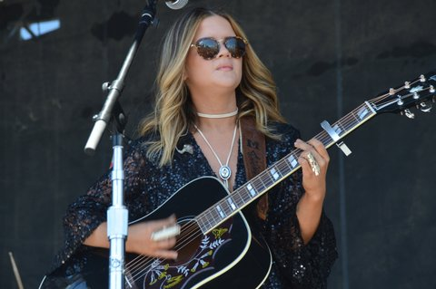 LAS VEGAS, NEVADA - APRIL 03:  Maren Morris performs during the ACM Party for a Cause Festival at the Las Vegas Festival Grounds on April 3, 2016 in Las Vegas, Nevada.  (Photo by Mindy Small/FilmMagic)