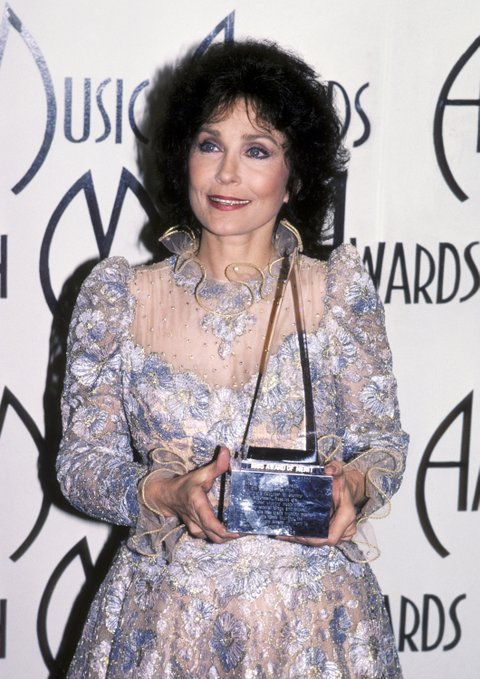 Loretta Lynn during 12th Annual American Music Awards at Shrine Auditorium in Los Angeles, California, United States. (Photo by Ron Galella/WireImage)