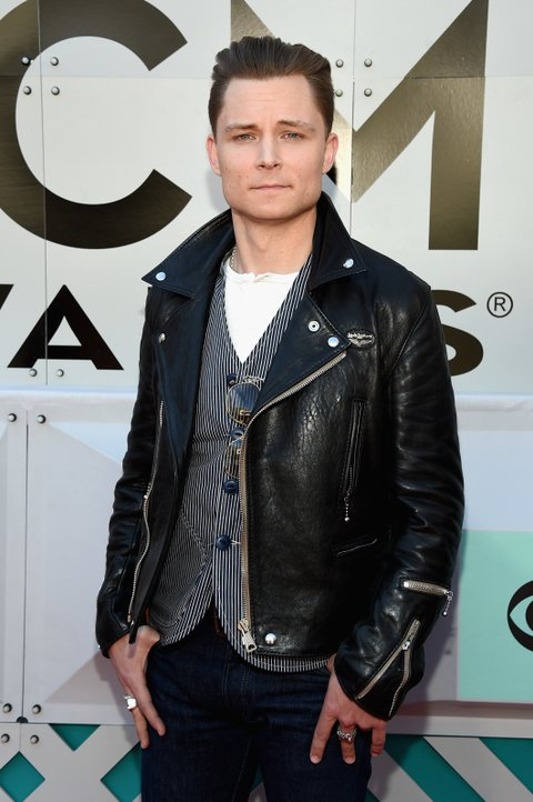 LAS VEGAS, NEVADA - APRIL 03: Recording artist Frankie Ballard attends the 51st Academy of Country Music Awards at MGM Grand Garden Arena on April 3, 2016 in Las Vegas, Nevada.