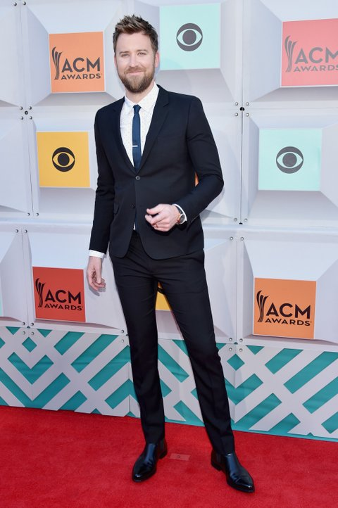 LAS VEGAS, NEVADA - APRIL 03: Singer Charles Kelley of Lady Antebellum attends the 51st Academy of Country Music Awards at MGM Grand Garden Arena on April 3, 2016 in Las Vegas, Nevada.