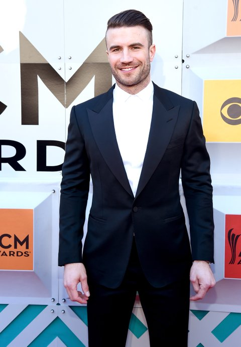 LAS VEGAS, NEVADA - APRIL 03: Recording artist Sam Hunt attends the 51st Academy of Country Music Awards at MGM Grand Garden Arena on April 3, 2016 in Las Vegas, Nevada. (Photo by Rick Diamond/ACM2016/Getty Images for dcp)