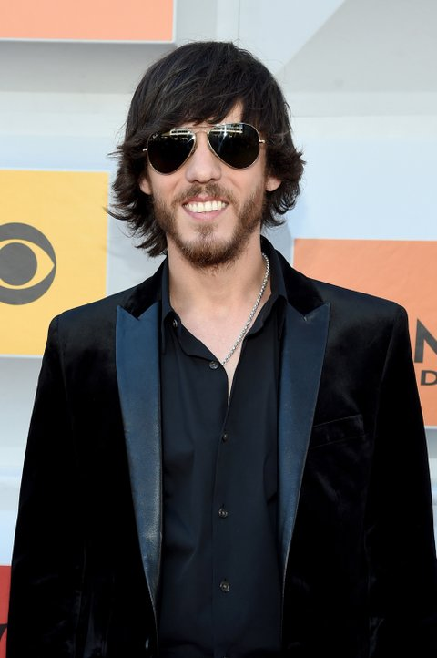 LAS VEGAS, NEVADA - APRIL 03: Recording artist Chris Janson attends the 51st Academy of Country Music Awards at MGM Grand Garden Arena on April 3, 2016 in Las Vegas, Nevada.