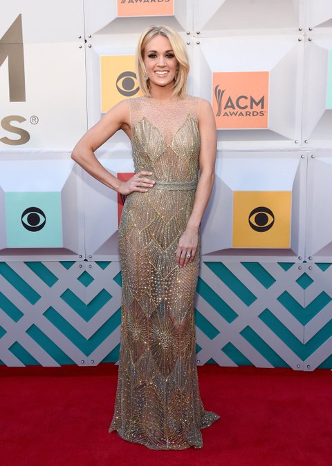 LAS VEGAS, NEVADA - APRIL 03: Recording artist Carrie Underwood attends the 51st Academy of Country Music Awards at MGM Grand Garden Arena on April 3, 2016 in Las Vegas, Nevada. (Photo by Rick Diamond/ACM2016/Getty Images for dcp)