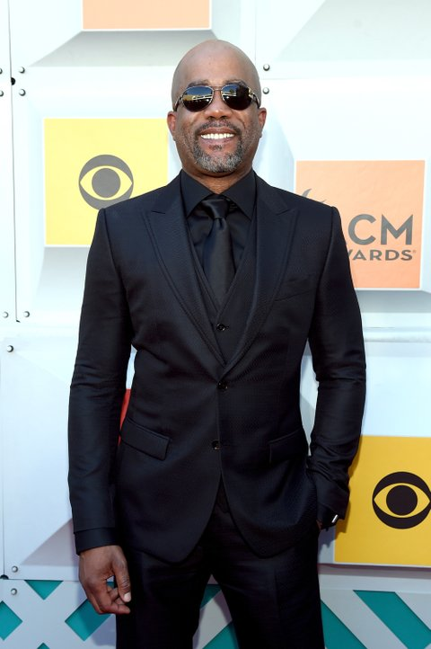 LAS VEGAS, NEVADA - APRIL 03: Recording artist Darius Rucker attends the 51st Academy of Country Music Awards at MGM Grand Garden Arena on April 3, 2016 in Las Vegas, Nevada.