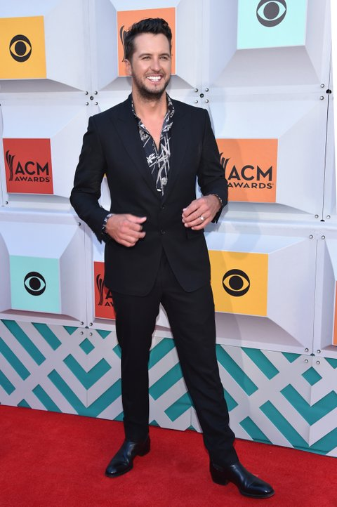 Luke Bryan attends the 51st Academy of Country Music Awards at MGM Grand Garden Arena on April 3, 2016 in Las Vegas, Nevada.
