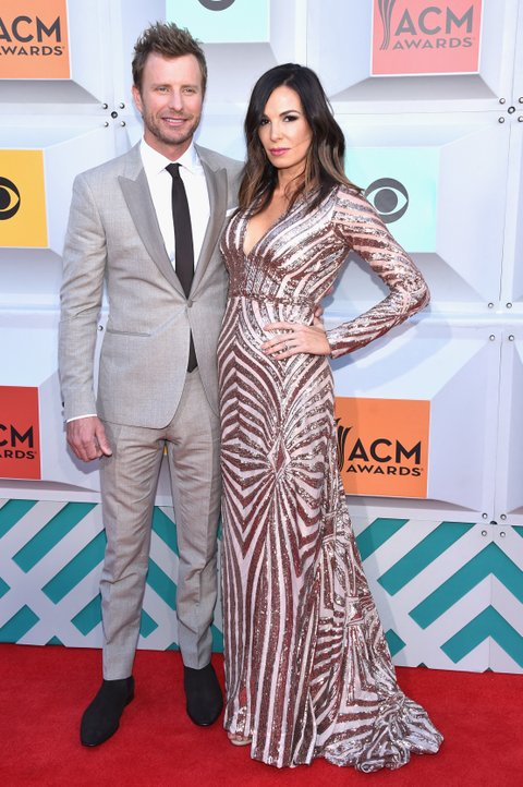 Dierks Bentley and Cassidy Black attends the 51st Academy of Country Music Awards at MGM Grand Garden Arena on April 3, 2016 in Las Vegas, Nevada.