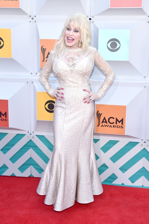 Dolly Parton attends the 51st Academy of Country Music Awards at MGM Grand Garden Arena on April 3, 2016 in Las Vegas, Nevada.