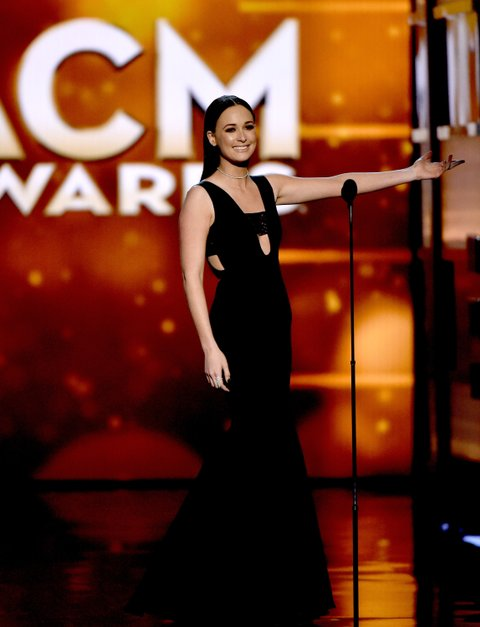 Kacey Musgraves onstage during the 51st Academy of Country Music Awards at MGM Grand Garden Arena on April 3, 2016 in Las Vegas, Nevada.