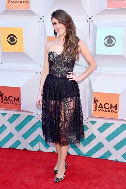 LAS VEGAS, NEVADA - APRIL 03: Singer Kelleigh Bannen attends the 51st Academy of Country Music Awards at MGM Grand Garden Arena on April 3, 2016 in Las Vegas, Nevada. (Photo by John Shearer/WireImage)