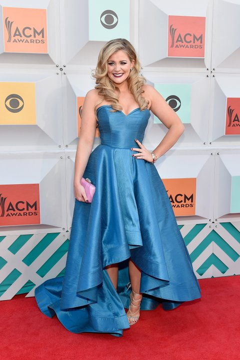 Lauren Alaina attends the 51st Academy of Country Music Awards at MGM Grand Garden Arena on April 3, 2016 in Las Vegas, Nevada.