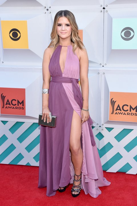 Maren Morris attends the 51st Academy of Country Music Awards at MGM Grand Garden Arena on April 3, 2016 in Las Vegas, Nevada.