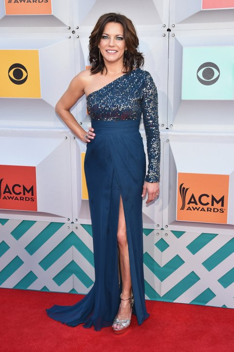 Martina McBride attends the 51st Academy of Country Music Awards at MGM Grand Garden Arena on April 3, 2016 in Las Vegas, Nevada.