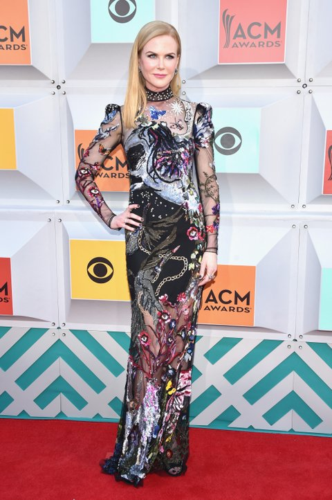Nicole Kidman attends the 51st Academy of Country Music Awards at MGM Grand Garden Arena on April 3, 2016 in Las Vegas, Nevada.