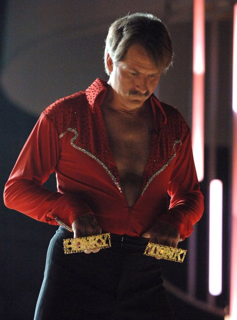 Jeff Foxworthy, host, performs Line Dancing With The Stars (Photo by Jeff Kravitz/FilmMagic)