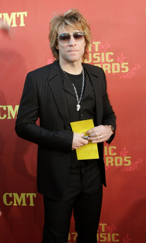Jon Bon Jovi during 2007 CMT Music Awards - Arrivals at The Curb Event Center at Belmont University in Nashville, Tennessee, United States. (Photo by Tony R. Phipps/WireImage)