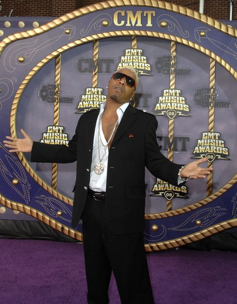 Musician Sisqo attends the 2008 CMT Music Awards at the Curb Events Center at Belmont University on April 14, 2008 in Nashville, Tennessee. (Photo by Jon Kopaloff/FilmMagic)