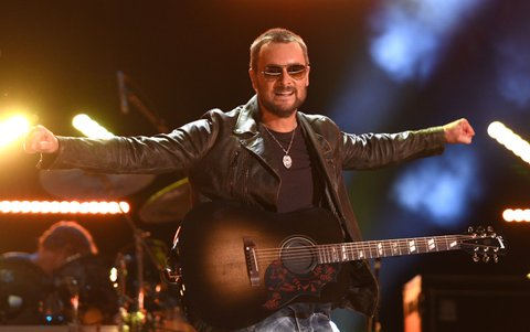 NASHVILLE, TN - JUNE 10:  Eric Church performs during the 2016 CMA Music Festival on June 10, 2016 in Nashville, Tennessee.  (Photo by C Flanigan/FilmMagic)
