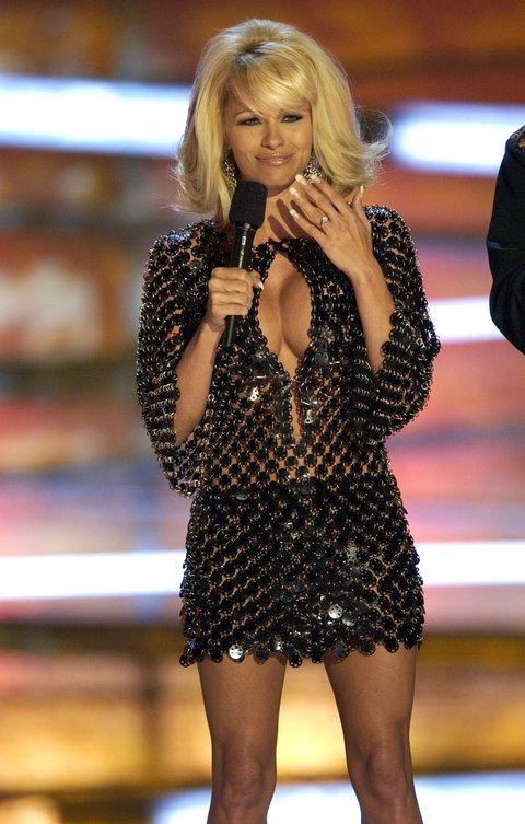 Pamela Anderson (Photo by Kevin Mazur/WireImage)