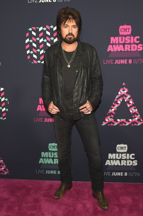 NASHVILLE, TN - JUNE 08: Singer-songwriter Billy Ray Cyrus attends the 2016 CMT Music awards at the Bridgestone Arena on June 8, 2016 in Nashville, Tennessee. (Photo by Rick Diamond/Getty Images for CMT)