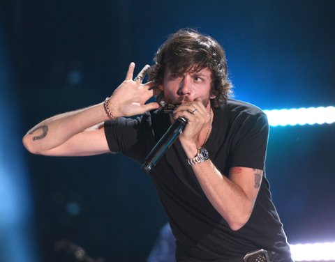 NASHVILLE, TN - JUNE 10:  Chris Janson performs during the 2016 CMA Music Festival on June 10, 2016 in Nashville, Tennessee.  (Photo by C Flanigan/FilmMagic)