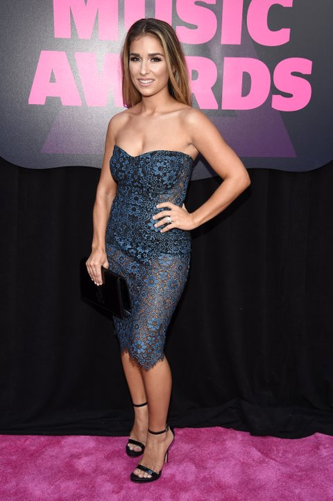 NASHVILLE, TN - JUNE 08: Musician Jessie James attends the 2016 CMT Music awards at the Bridgestone Arena on June 8, 2016 in Nashville, Tennessee. (Photo by Kevin Mazur/WireImage)