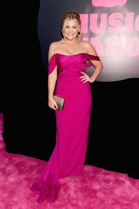 NASHVILLE, TN - JUNE 08: Lauren Alaina attends the 2016 CMT Music awards at the Bridgestone Arena on June 8, 2016 in Nashville, Tennessee. (Photo by Jeff Kravitz/FilmMagic)