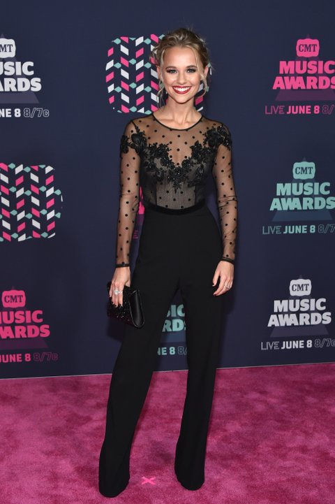 NASHVILLE, TN - JUNE 08: Actress Madison Iseman attends the 2016 CMT Music awards at the Bridgestone Arena on June 8, 2016 in Nashville, Tennessee. (Photo by Mike Coppola/Getty Images for CMT)
