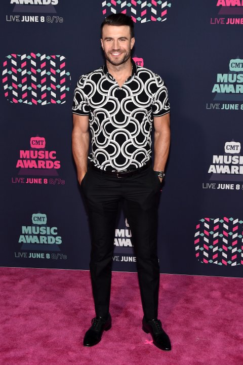 NASHVILLE, TN - JUNE 08: Musician Sam Hunt attends the 2016 CMT Music awards at the Bridgestone Arena on June 8, 2016 in Nashville, Tennessee. (Photo by John Shearer/WireImage)
