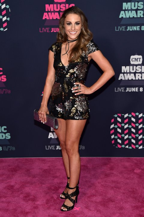 NASHVILLE, TN - JUNE 08: Tara Thompson attends the 2016 CMT Music awards at the Bridgestone Arena on June 8, 2016 in Nashville, Tennessee. (Photo by John Shearer/WireImage)