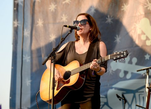 FRANKLIN, TN - SEPTEMBER 24:  Singer-songwriter Lori McKenna performs onstage at the Pilgrimage Music & Cultural Festival - Day 1 on September 24, 2016 in Franklin, Tennessee.  (Photo by Erika Goldring/Getty Images for Pilgrimage Music & Cultural Festival)