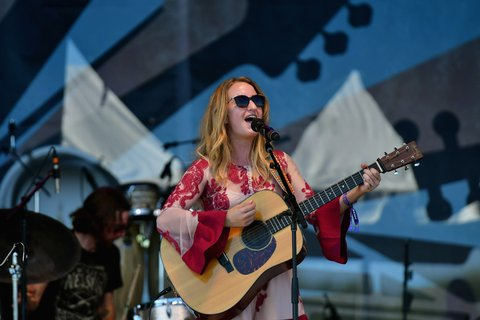 FRANKLIN, TN - SEPTEMBER 25:  Margo Price performs onstage at the Pilgrimage Music & Cultural Festival - Day 2 on September 25, 2016 in Franklin, Tennessee.  (Photo by Mickey Bernal/Getty Images for Pilgrimage Music & Cultural Festival)