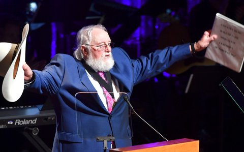NASHVILLE, TN - OCTOBER 16:  Charlie Daniels is inducted into The Country Music Hall of fame during the 2016 Medallion Ceremony at Country Music Hall of Fame and Museum on October 16, 2016 in Nashville, Tennessee.  (Photo by Jason Davis/Getty Images for Country Music Hall of Fame & Museum )