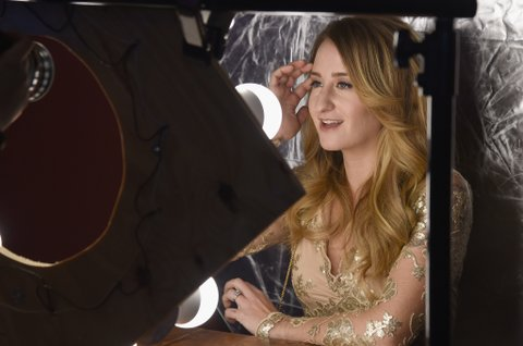 NASHVILLE, TN - NOVEMBER 01:  Singer-songwriter Margo Price takes photos before CMT's Next Women of Country on November 1, 2016 in Nashville, Tennessee.  (Photo by Rick Diamond/Getty Images for CMT)