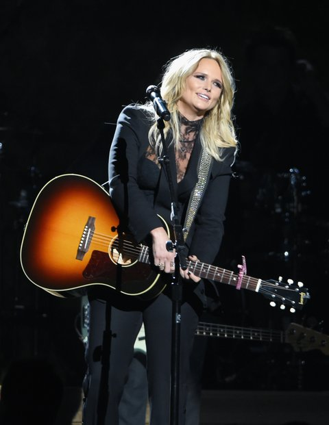 NASHVILLE, TN - NOVEMBER 02:  Singer-songwriter Miranda Lambert performs onstage at the 50th annual CMA Awards at the Bridgestone Arena on November 2, 2016 in Nashville, Tennessee.  (Photo by Erika Goldring/FilmMagic)