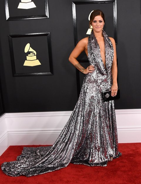 LOS ANGELES, CA - FEBRUARY 12:  Singer Cassadee Pope attends The 59th GRAMMY Awards at STAPLES Center on February 12, 2017 in Los Angeles, California.  (Photo by Jon Kopaloff/FilmMagic)