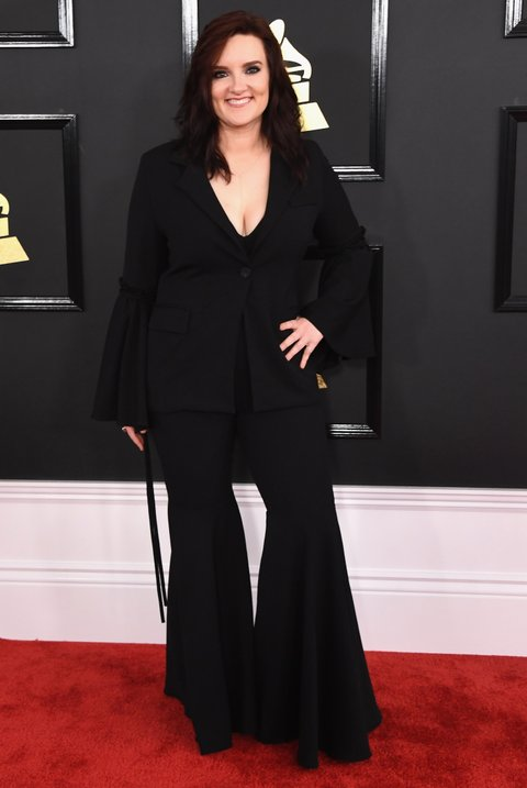 LOS ANGELES, CA - FEBRUARY 12:  Singer Brandy Clark attends The 59th GRAMMY Awards at STAPLES Center on February 12, 2017 in Los Angeles, California.  (Photo by Jon Kopaloff/FilmMagic)