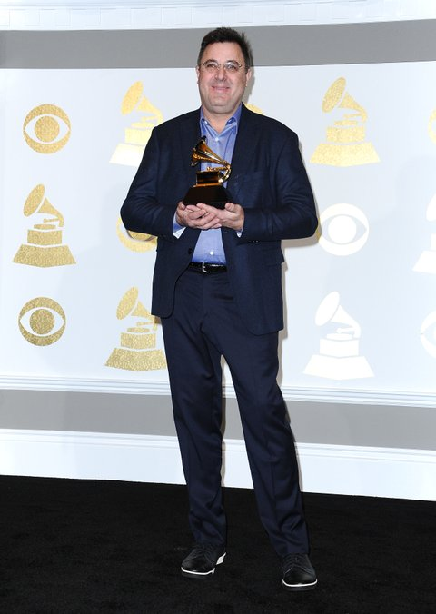 LOS ANGELES, CA - FEBRUARY 12:  Singer Vince Gill poses in the press room at the 59th GRAMMY Awards at Staples Center on February 12, 2017 in Los Angeles, California.  (Photo by Jason LaVeris/FilmMagic)
