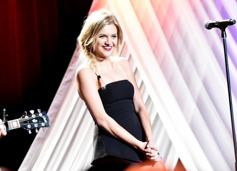 NASHVILLE, TN - FEBRUARY 27:  Kelsea Ballerini performs at the T.J. Martell Foundation 9th Annual Nashville Honors Gala at Omni Hotel on February 27, 2017 in Nashville, Tennessee.  (Photo by Rick Diamond/Getty Images for T.J. Martell Foundation)