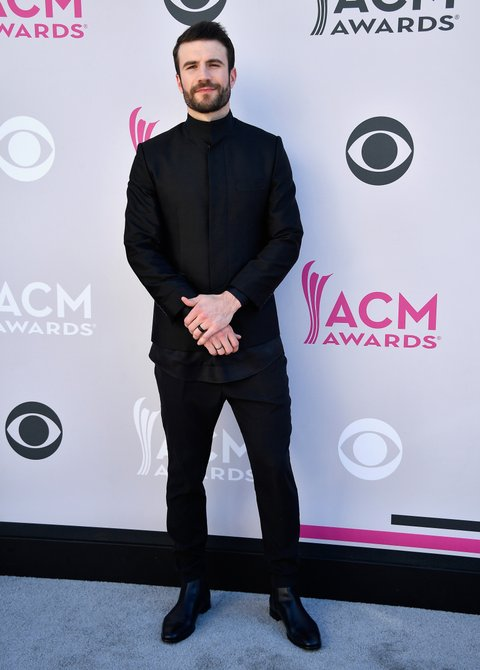 LAS VEGAS, NV - APRIL 02:  Recording artist Sam Hunt attends the 52nd Academy Of Country Music Awards at Toshiba Plaza on April 2, 2017 in Las Vegas, Nevada.  (Photo by Frazer Harrison/Getty Images)