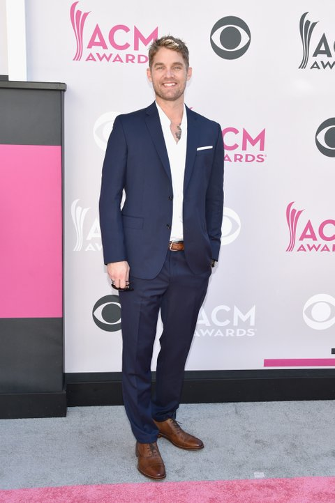LAS VEGAS, NV - APRIL 02:  Singer Brett Young attends the 52nd Academy Of Country Music Awards at Toshiba Plaza on April 2, 2017 in Las Vegas, Nevada.  (Photo by John Shearer/WireImage)